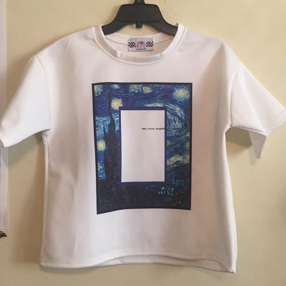 755940443ac 🚫SOLD ON DEPOP 🚫 Starry night shirt